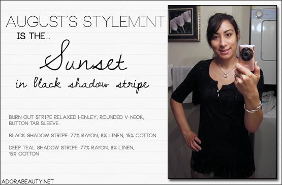 Stylemint – Sunset tee
