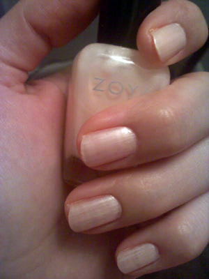 "Nails of The Week: Zoya – ""Melanie"""