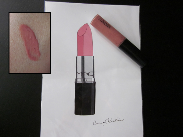 "Review of MAC Lipglass in ""Lust"""