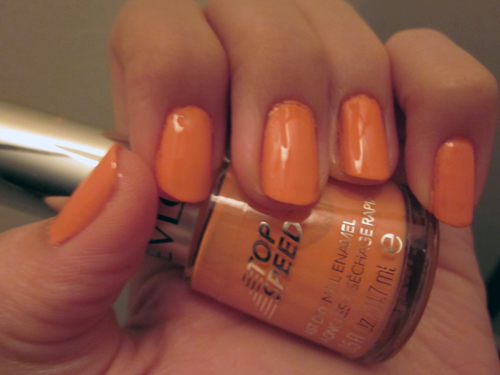 "Nails of the Week: Revlon ""Peachy"""