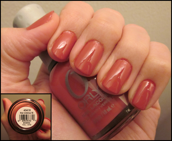 "Nails of the Week: Orly ""Pink Chocolate"""
