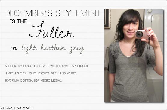 Stylemint – Fuller Tee