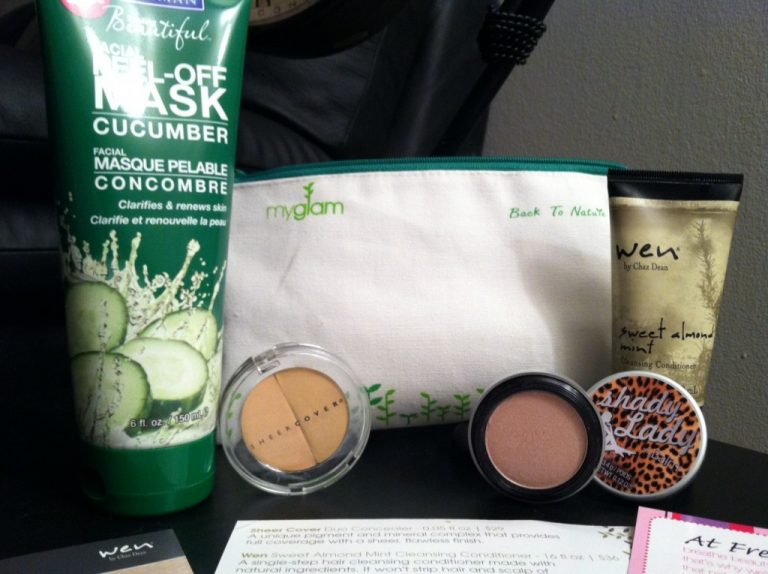 January Glam Bag: Back To Nature