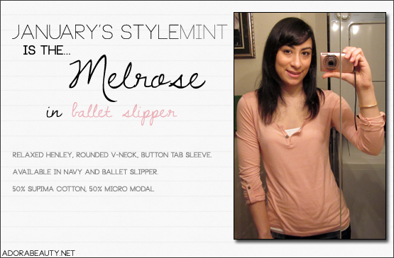 Stylemint – Melrose Tee
