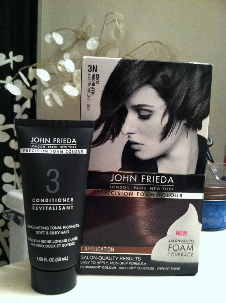 John Frieda Precision Foam Hair Dye