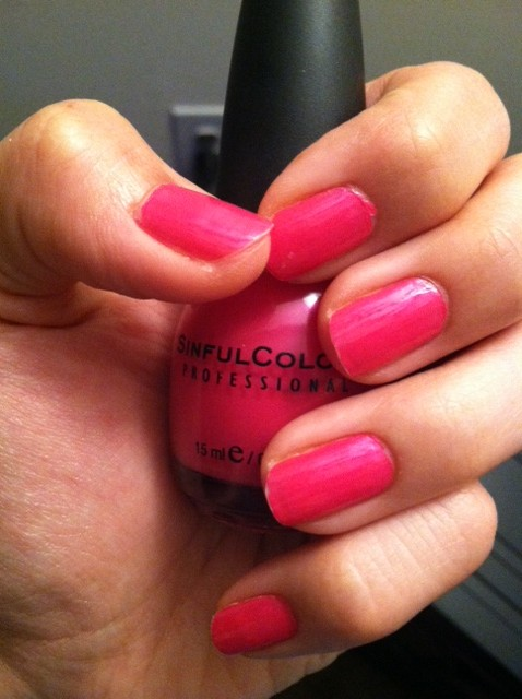 """Nails: Sinful Colors """"Oasis"""""""