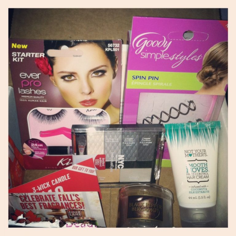 Influenster Beauty Blogger Vox Box