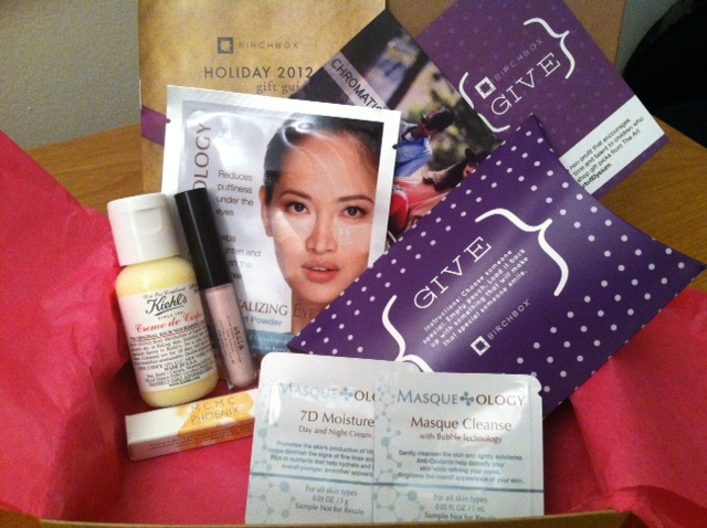 My November Birchbox
