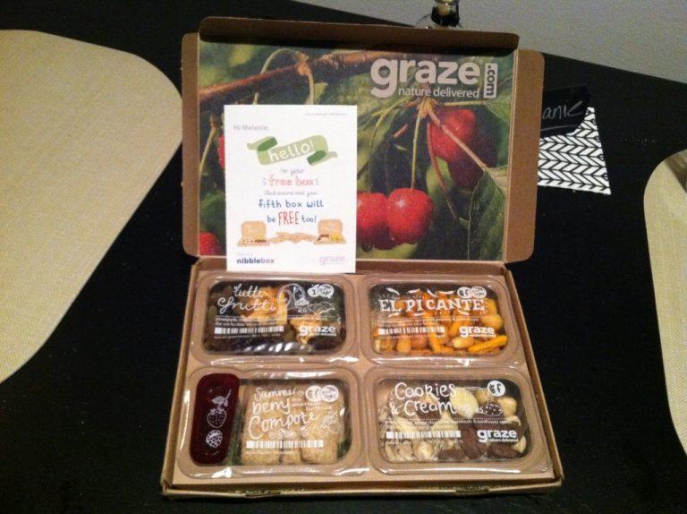 My First Graze Box!