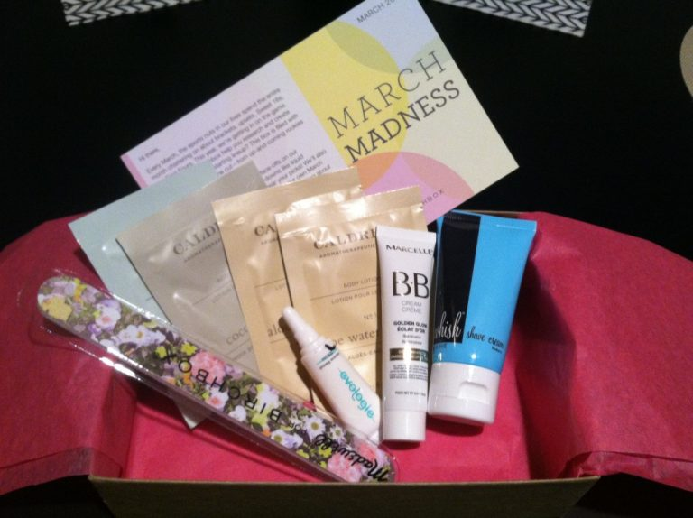 My March Birchbox