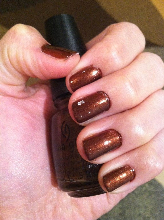 "China Glaze – ""Unplugged"""