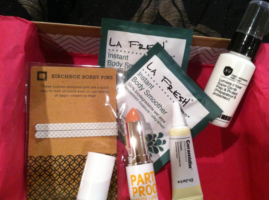 My July 2013 Birchbox