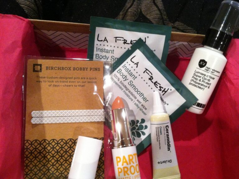 My July Birchbox