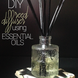 DIY Reed Diffuser using Essential Oils