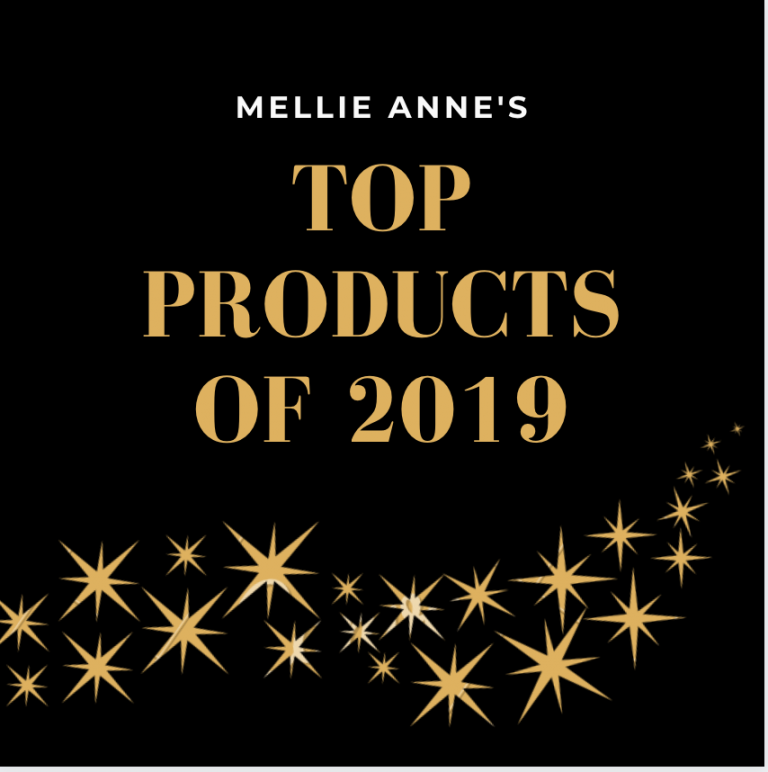 My Top Favorite Products of 2019
